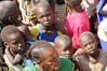 Displaced people in South Sudan at a UNICEF food distribution by unicefireland
