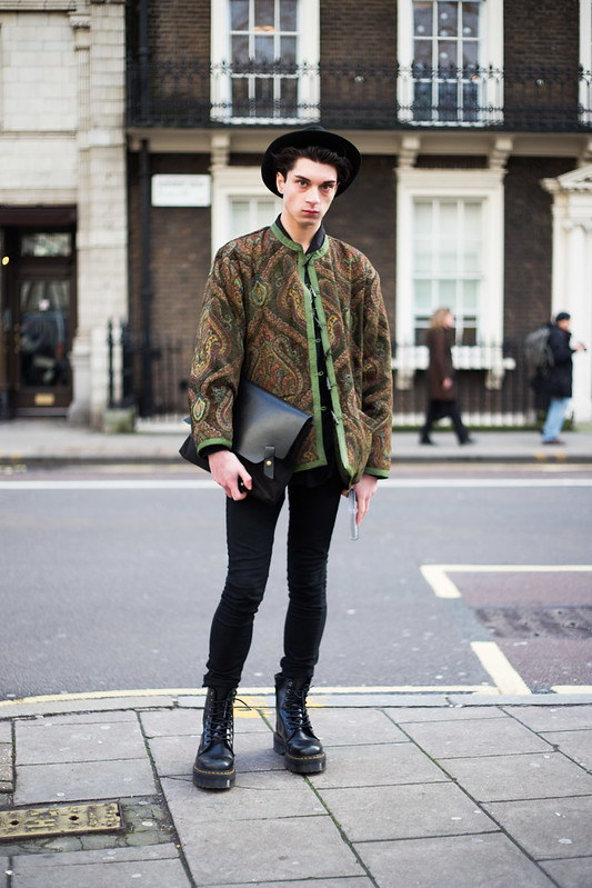 Street Style - Ollie, London Collections: Men