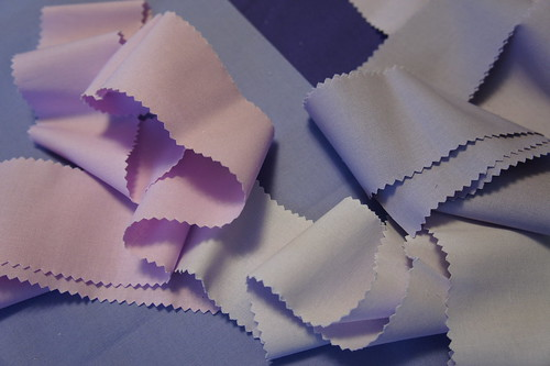 raw materials of purple solids