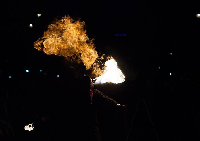 Photos cracheurs de feu - 10ème anniversaire le 25 janvier 2014 12151001056_b0598e4e54_c