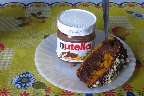 Cobertura de Nutella