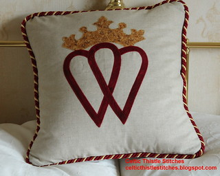Luckenbooth Cushion front