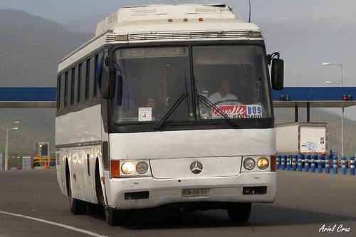 Covalle Internacional en Ruta 5 Norte | Mercedes Benz O371 / KK5841