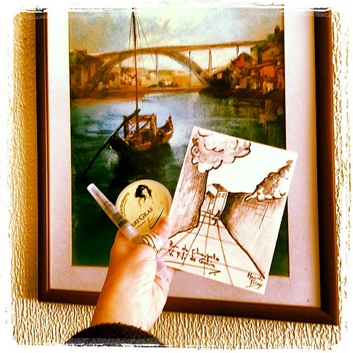 Oporto city rocks!! Another Water graphite card... By me! by *manuworld*