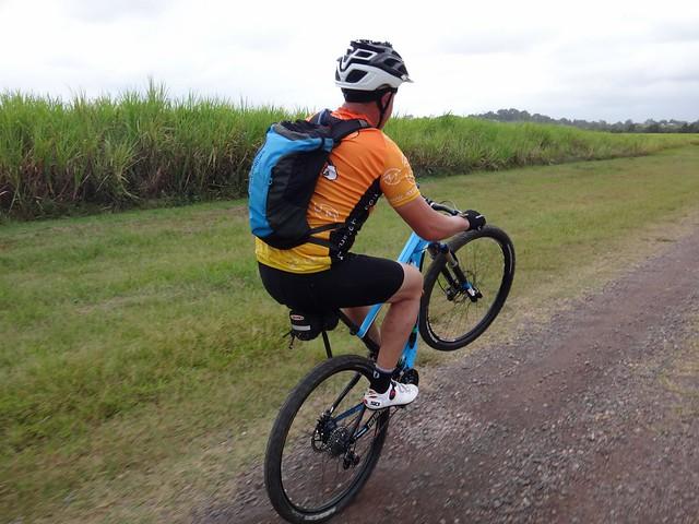 Wheelie in the Cane Fields