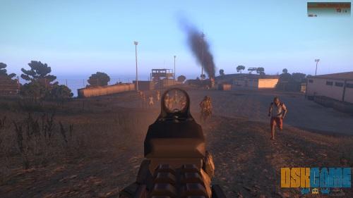 Mod Dynamic Zombie Sandbox de Arma III