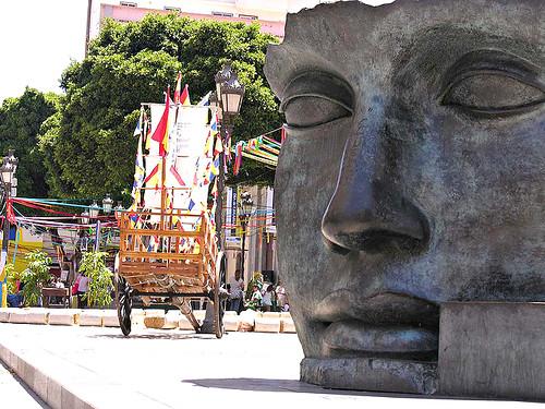 Teatro Guimera Mask, Santa Cruz