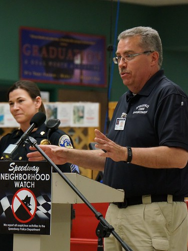 Speedway Neighborhood Watch Symposium