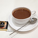 Italian hazelnut and almond blend hot chocolate with Amedei 9 bar