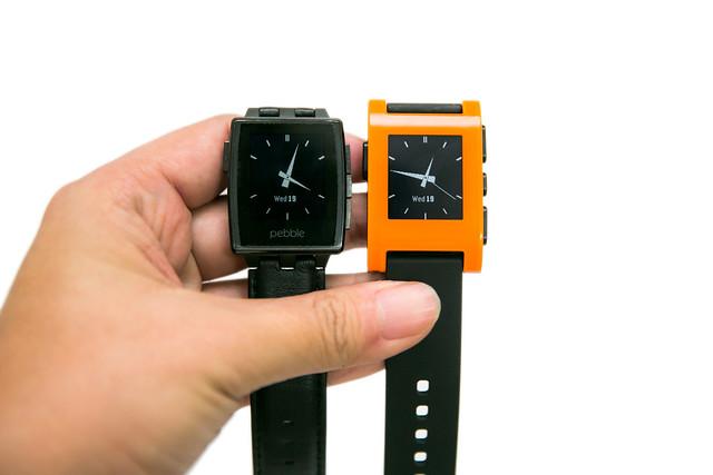 要超越的是自己!PEBBLE 智慧手錶新款 STEEL 金屬版 (1) 開箱分享 @3C 達人廖阿輝