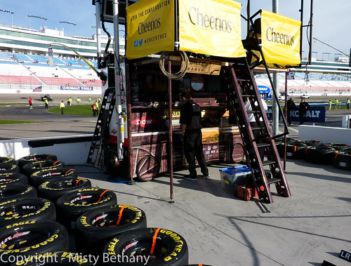 Austin Dillon's Pit Box/Covered Wagon