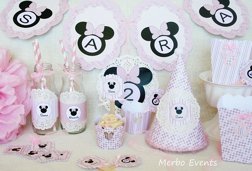 Kit imprimible minnie Mouse Merbo Events