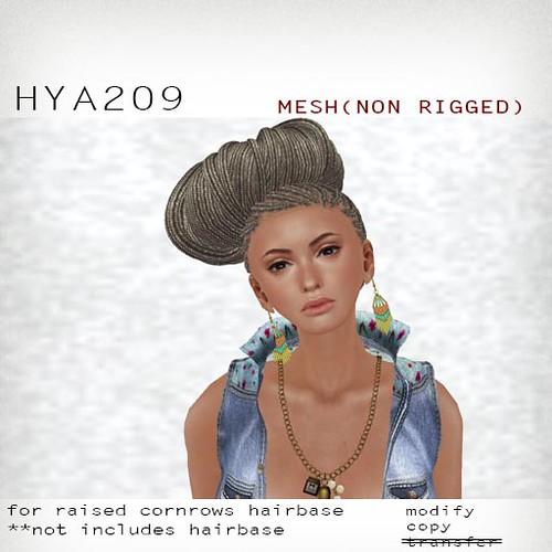 booN HYA209 hair