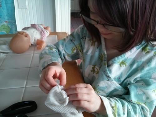 Moira sewing