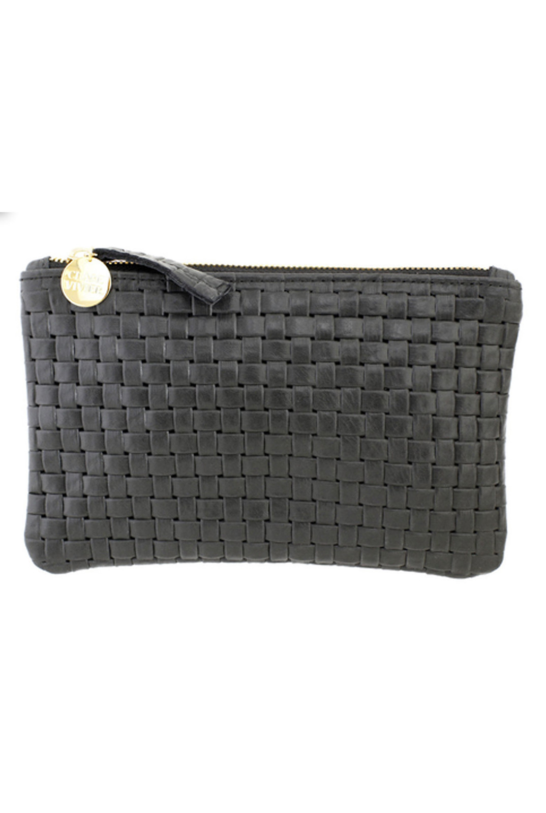Basketweave Wallet Clutch