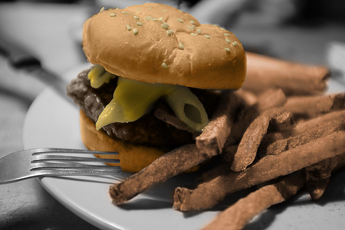 Colorized Mac Attack Burger