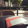 Une table au soleil t'attend @laberne ! À toute suite!  ♥ #Paris #cafe #sunshine