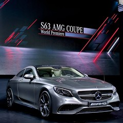 The Star of the show. #NYIAS #S63 #AMG #mercedes #benz #instacar #germancars photo from mbusa