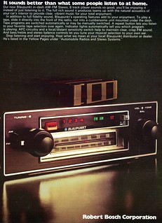 1974 Blaupunkt Radio Advertising Road & Track July 1974