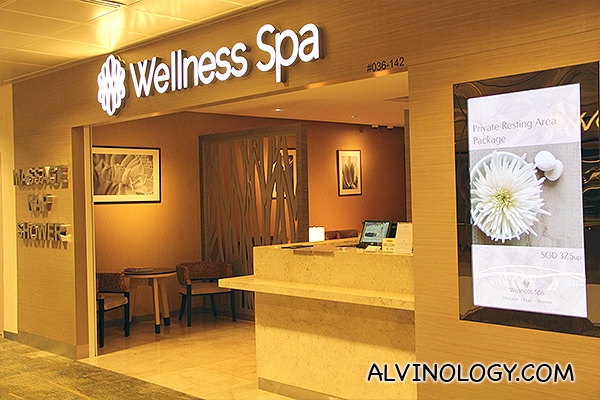 Do you know there are Wellness Spa centres in the transit halls? Indulge in a massage session or spa therapy if you have the time