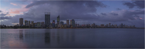 city light sunset sky panorama water skyline clouds photoshop river twilight scenery cityscape dusk sony scenic australia panoramic perth fullframe alpha ff westernaustralia southperth lightroom a99 sal50f14 slta99 stevekphotography