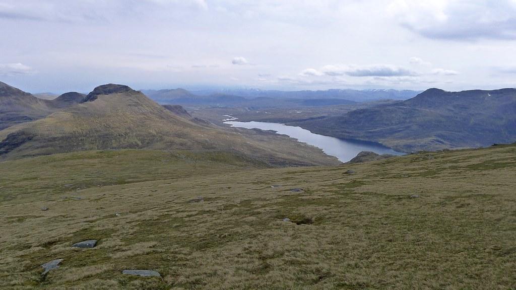 Beinn Tarsuinn and Lochan Fada