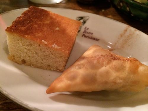 スーダン風ココナッツケーキ&モロッコ風アーモンドクリーム揚げ菓子@ロス・バルバドス