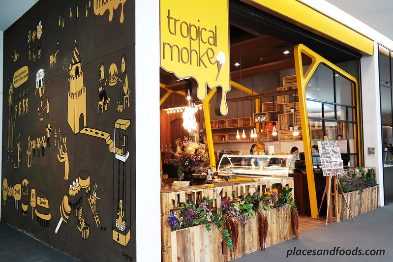tropical monkey boutique ice cream cafe central embassy