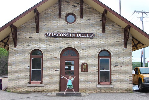 Wisconsin Dells Train Depot
