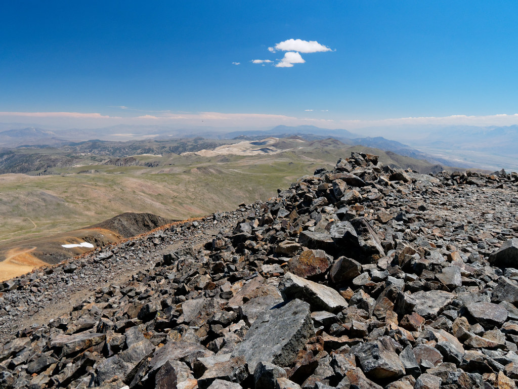Wood Mountain Elevation : Elevation of piute mountain california usa topographic