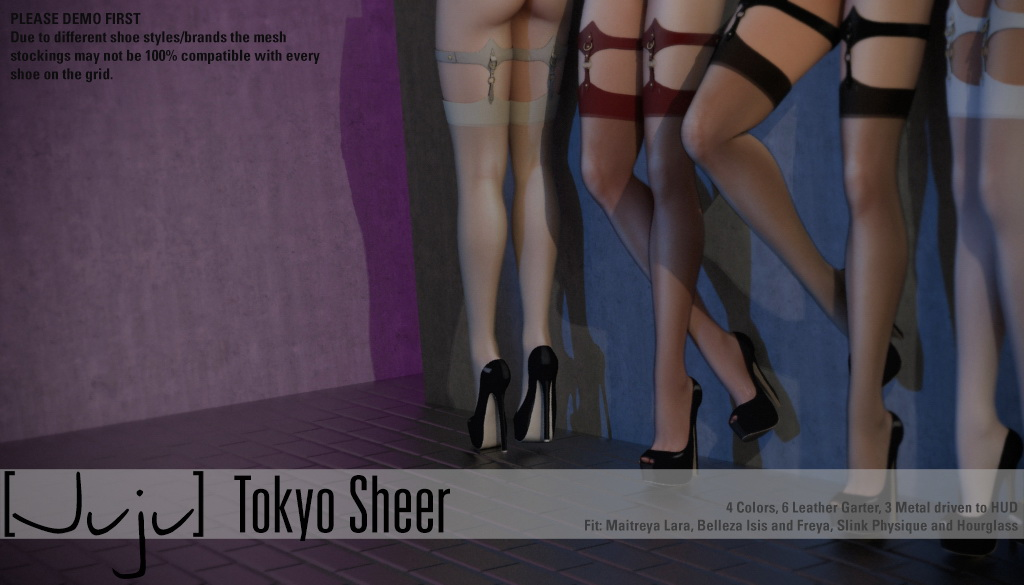 [Juju] Tokyo Stockings - Sheer for Uber - SecondLifeHub.com