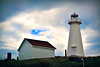 St. John's, Cape Spear. New Lighthouse.