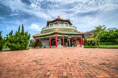HDR - Pagoda in downtown Norfolk, VA