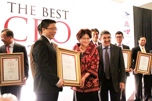 Special Achievement of Leadership 2013: Indra Abidin.
