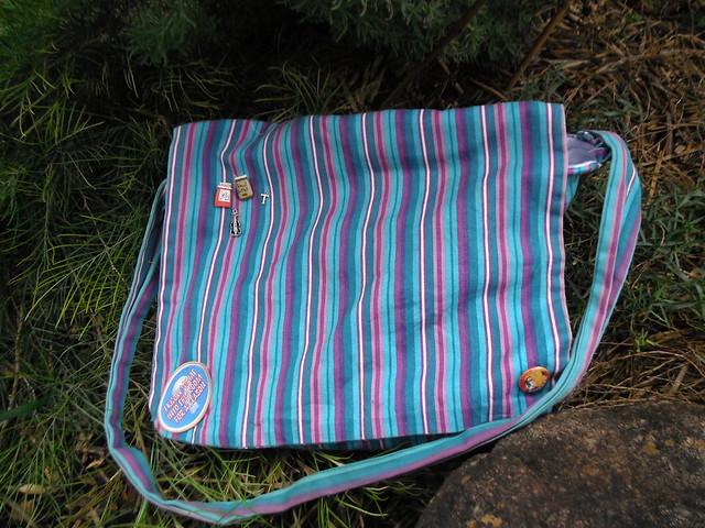 Messenger Bag Outside