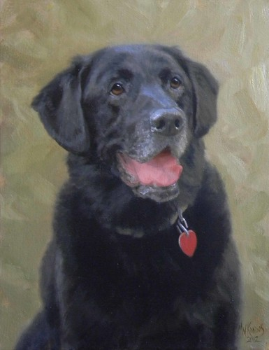 Buster- oil on canvas 12