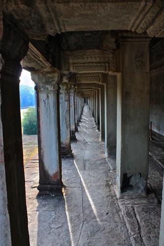 long cooridor of Angkor Wat
