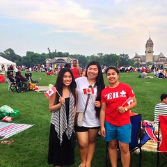 Canada Day celebration with @pammie0520 and @collythejean! #canadaday #winnipeg #instapegcity