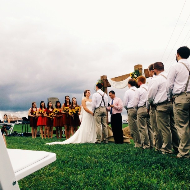 Married. #shelbyandbenjamin