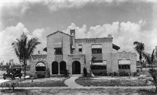 Purcell home at 1327 North Greenway Drive: Coral Gables, Florida