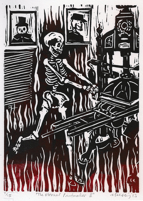 The Eternal Printmaker II