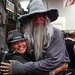 Donabel and Gandalf by ewen and donabel