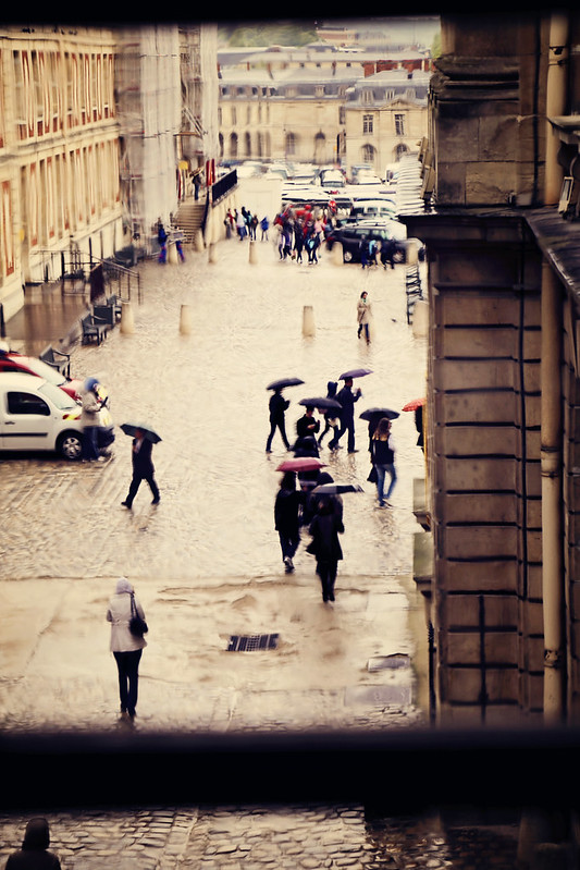 Versailles Umbrellas