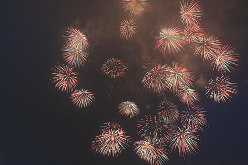 the 28th Kanagawa Shimbun Fireworks Festival 14