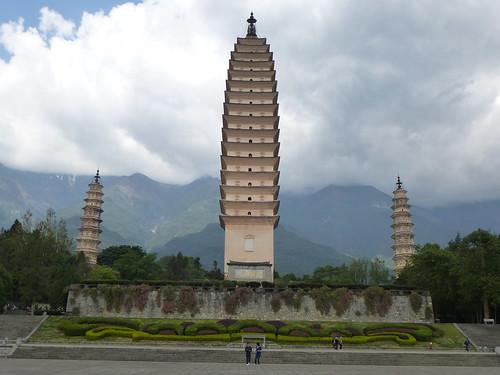Yunnan13-Dali-1. Pagodes-étang (8)