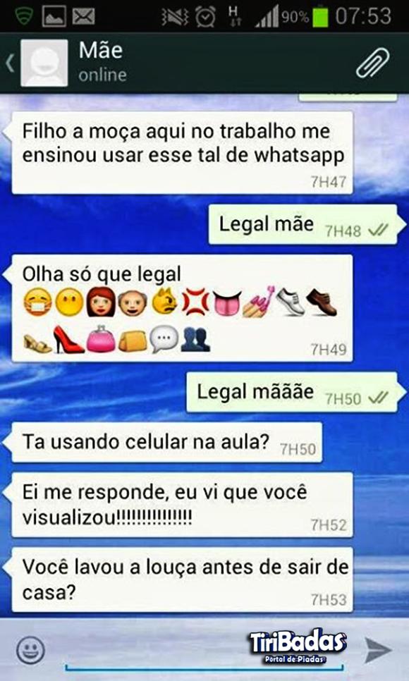 Whatsapp da mamãe