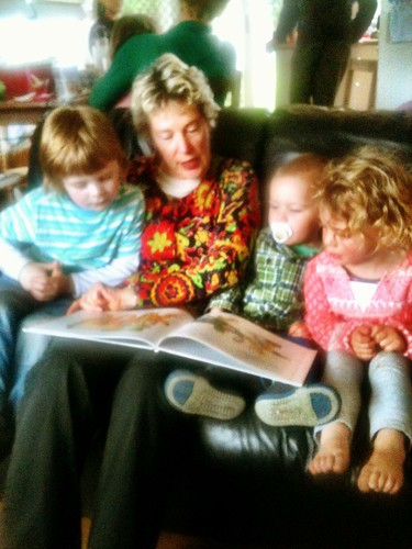 Reading with the Nana