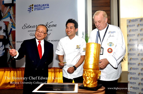 The Honorary Chef Edward Kwon of Berjaya University College of Hospitality 3