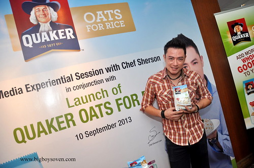 Quaker Oats for Rice 4
