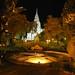 Wat Phnom by night
